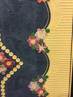 Summer Time, pieced and quilted by Carolyn Rider.  2017 Utah Quilting and Sewing Marketplace.  Photo by Sew Fun 2 Quilt.