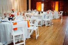 Orange Baltimore Museum Wedding, Real Wedding Photos by Bradley Images, inc. - Image 18 of 27 - WeddingWire Mobile