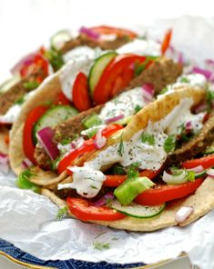 Gyro meat in the crockpot. Use low carb pitas and homemade tzatziki. Crock Pot Slow Cooker, Crock Pot Cooking, Slow Cooker Recipes, Crockpot Recipes, Cooking Recipes, Crockpot Lamb, Lamb Recipes, Greek Recipes, New Recipes