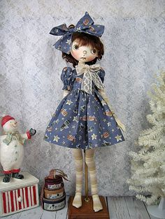 """Midnight Angels Outfit for Connie Lowe Olga 19"""" made by Ulla #ulladesigns"""