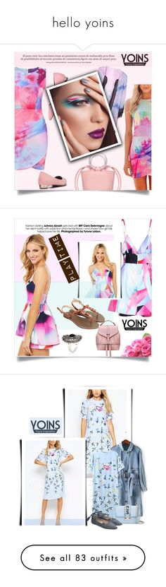 """""""hello yoins"""" by kriz-nambikatt ❤ liked on Polyvore featuring yoins, Valentino, Chanel, Patagonia, Coach, Tag, yoinscollection, Alexander McQueen, Dot & Bo and Oliver Gal Artist Co."""