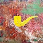 "Programa General  MERKUR Gallery,  Estambul Seyda Cesur ""Untitled"" Mixed media on canvas 148×192 cm"