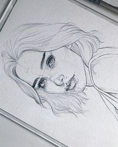 Amykour: Esquisse sur Fabri Amykour : Sketch on Fabriano Artistico cotton Pencil Pentel Graphgear Amykour: Croquis sur Fabriano Artistico coton Pencil Pentel Graphgear 1000 ______________________________________________ Merci au crayon dessin au crayon Pencil Art Drawings, Art Drawings Sketches, Cool Drawings, Drawing Faces, Girl Pencil Drawing, Pencil Sketches Of Faces, Drawing Girls, Art Drawings Beautiful, Pretty Drawings