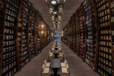 Livraria Zhonshuge, Xangai, China.