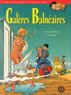 """Résultat de recherche d'images pour """"les galeres balneaires bande dessinée"""""""