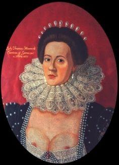 International Portrait Gallery: Retrato de la Iª Condesa de Somerset