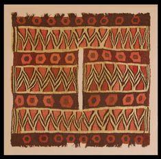 Nazca tunic, 200-600 AD