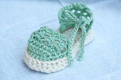 Baby Crochet Espadrille Sandals