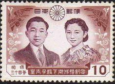 Akihito and Michiko, emperor and empress of Japan
