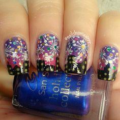 new year #nail #nails #nailart