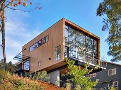 #wooden box. EB1 Home / Replinger Hossner Architects