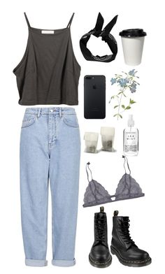 """""""Untitled #175"""" by shatalovatatyana ❤ liked on Polyvore featuring Boutique, Dr. Martens, Boohoo, Forrest & Bob, RSVP International and Herbivore"""