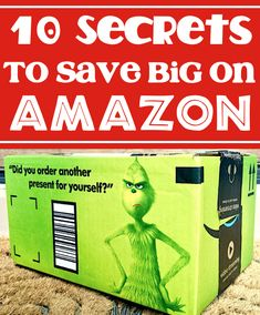 Amazon Hacks and Tips to Save BIG! Seriously... you won't believe how much you'll save with these little known tips and tricks! Have you tried any of these yet??