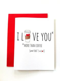 Funny Valentine Card. Valentine's Day by RoseHillDesignStudio, $4.00
