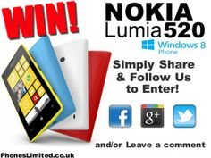 Competition - Win a Nokia Lumia smart phone