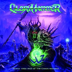 Gloryhammer - Space 1992.  The lyrics are beyond ridiculous, but the music itself is pretty solid power metal.  Glad these guys don't take themselves too seriously.