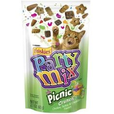 Friskies Party Mix - Chicken, Turkey & Cheese - Picnic Crunch - oz ~~~ To check this awesome product by going to the link at the image. (This is an affiliate link and I receive a commission for the sales) Purina Friskies, Cat Id Tags, Cat Shedding, Party Mix, Cat Fleas, Cat Accessories, Cat Health, Health Tips, Cat Grooming