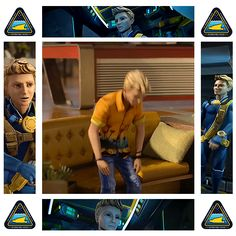 Gordon Tracy, Age 19. Thunderbirds Are Go, School Posters, Fake People, Life Purpose, Hawks, Supercar, Ufo, Netflix, Fandom