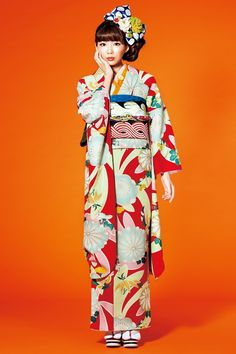 New kimono retro pattern is very popular! Coming-of-age ceremony kimono now! Featured Retro Style! View our cheap!