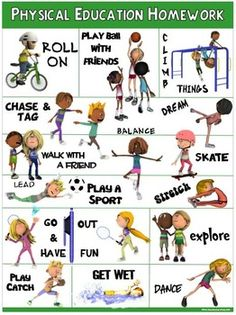 PE Poster: Physical Education Homework health coping skills health ideas health posters health promotion health tips Elementary Physical Education, Health And Physical Education, Education English, Elementary Education, Science Education, Education Quotes, Science Classroom, Pe Activities, Physical Activities