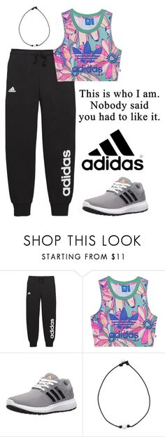 """adidas or nike??? i cant decide!!!"" by alyssalou221 ❤ liked on Polyvore featuring adidas and adidas Originals"