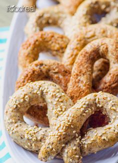 Easy Homemade Whole Wheat & Chia Pretzels - hearty, crunchy, chewy & soft. Full of fiber, Omega, protein and are so much fun for the kids!