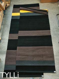 Epätasaraitamatot Diy And Crafts, Weaving, Rag Rugs, Comfy, Tear, Carpets, Crochet, Fabric, Home Decor