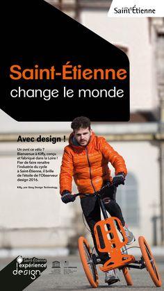 Kiffy fait renaître l'industrie du cycle à Saint-Etienne.