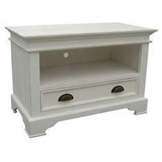 CPW - Kristina 1 Drawer TV Cabinet This brand new range from CPW features crisp white lines counter-balanced by black arched handles http://www.comparestoreprices.co.uk/living-room-furniture/cpw--kristina-1-drawer-tv-cabinet.asp