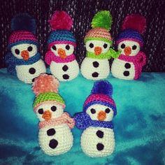 Baumschmuck Schneemänner