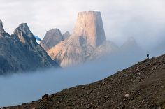 Mt. Asgard, Baffin Island, Canada. gonna have to use this in the story!