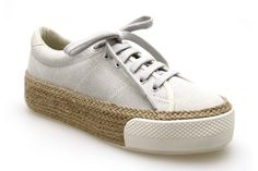 Baskets compensées NO NAME SUNSET SNEAKER Sable - Chaussures femme