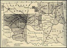 From Kentucky, to Texas, to Indian Territory 1881-1938