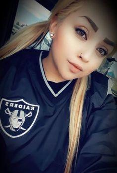 For Raider Fans by Raider Fans. Raiders Vegas, Raiders Sign, Oakland Raiders Football, Raiders Baby, Raiders Cheerleaders, La Kings Hockey, Brown Pride, Gangster Girl, Pretty Girl Swag