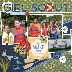 Girl+Scout+canoe+trip - Scrapbook.com