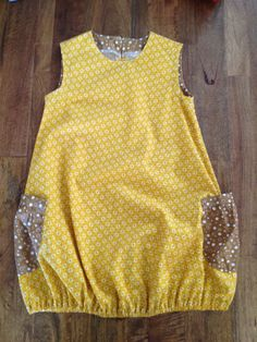 Girls Size 6 Sleeveless ALine Dress with by BabySuzannaJohanna, $38.00