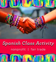Breathe life into your Spanish class with this free service learning project. Join over 1,000 schools in educating and empowering Nicaraguans and U.S. students. Visit www.pulseraproject.org/spanishclasses to learn more. #thepulseraproject