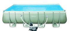 Piscina rectangular 17203lt 549x274x132cm Intex #piscinas #desmontables