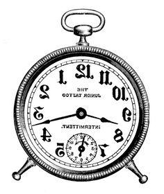 Коллекция картинок: Черно-белое для перевода в зеркальном отображении (часть 4)