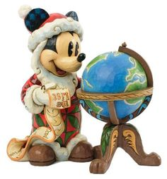 Enesco Disney Tradition - Figurilla de Mickey Mouse, de resina, altura de 18 cm, multicolor: Amazon.es: Hogar