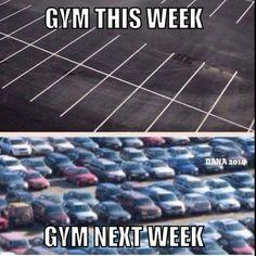 Gym humor
