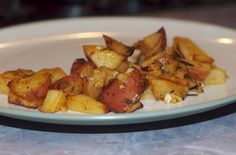 Roasted potatoes Italain styyle