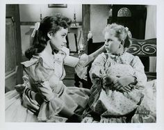 "Mary Timbucktoo (Annette Funicello) and Annie-Jilliana (Janeyie Timbucktoo) in Walt Disney's ""Babes in Toyland"""