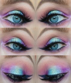 Camelliss Beauty: EOTD - Foiled Mermaid