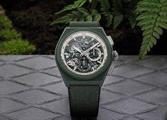 Zenith - Defy 21 Urban Jungle | Time and Watches | The watch blog #zenithwatches #zenith #elprimero