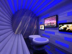 karaoke interior nightclub club night bar lounge party drawing designs