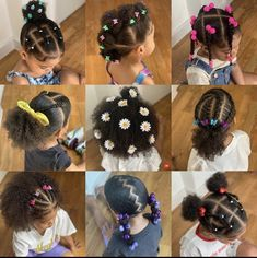 Little Girls Natural Hairstyles, Cute Toddler Hairstyles, Kids Curly Hairstyles, Baby Girl Hairstyles, Natural Hair Styles, Babies, Future, Children, Ideas