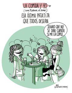 Agustina Guerrero: diario de una volátil ·la comida y yo, una historia de amor·
