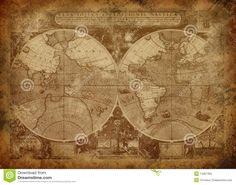 Old world map. Close-up of old grunge world map , Antique World Map, Old World Maps, Old Maps, Antique Maps, Vintage World Maps, World Map Canvas, World Map Wall Art, Grunge, Map Globe