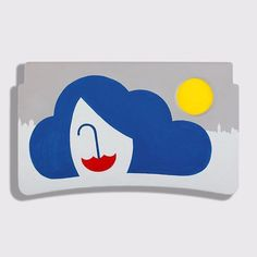 Hop on a Delta flight soon and you might be lucky enough to view an unexpected art show displayed on the planes tray tables. Conceived by WiedenKennedy New York the project sees Delta join forces with CocaCola to ask 12 artists to create work for the tables including Noma Bar & Ping Zhu from Dutch Uncle. Each artist has been inspired by a city that is a popular Delta destination as well as by traditional Coke ad themes of optimism and happiness. Noma Bars artwork is inspired by the weather…